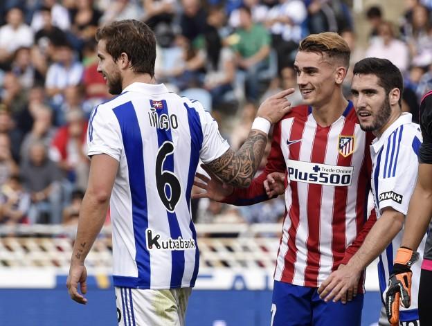 Griezmann the culprit as Atlético beat Sociedad