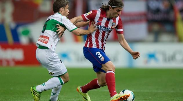 Filipe nearing Atlético return