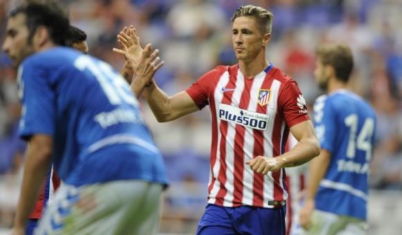 Torres celebrates his second half goal (AS)