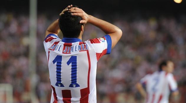 Raúl Jiménez had a disappointing season in Madrid