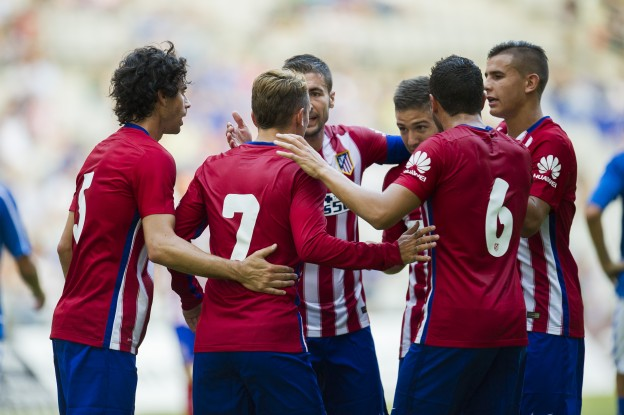 Atlético celebrate pre-season win
