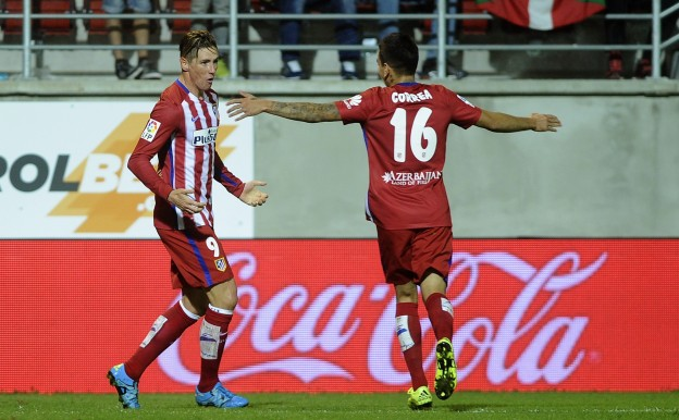 Correa and Torres the match-winners against Eibar