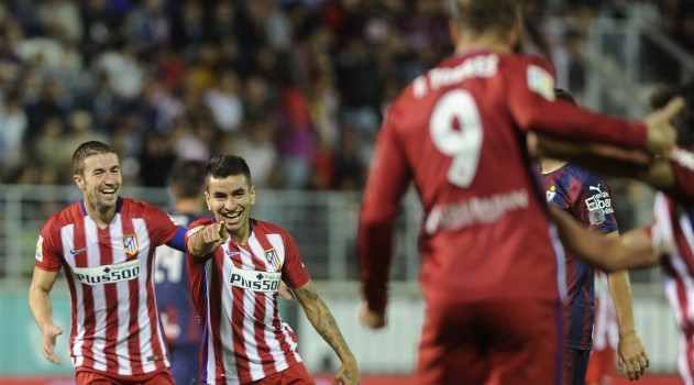 Correa and Torres combined for both goals against Eibar