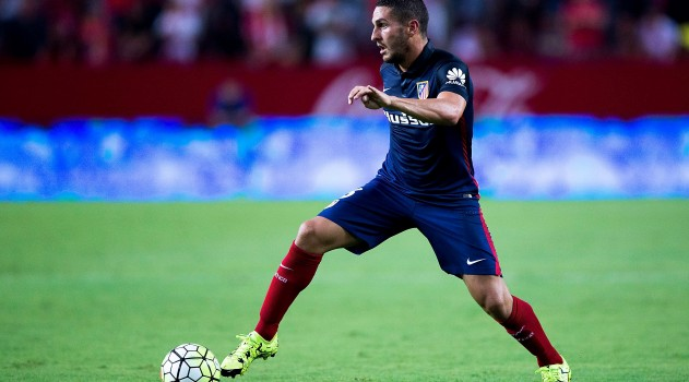 Koke has struggled for form in recent months