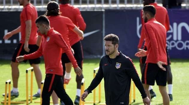 Cholo preparing team for the visit of Astana