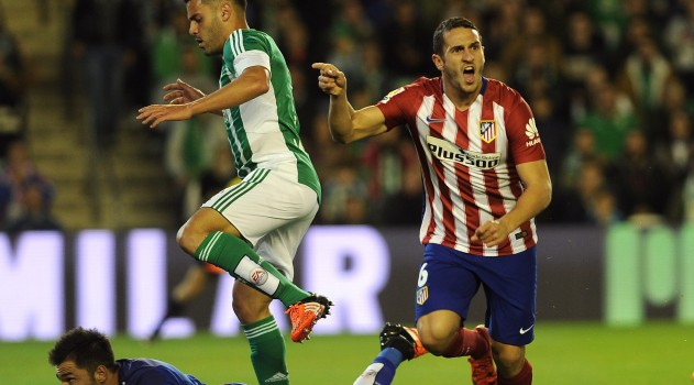 Koke scores early for Atlético on Sunday evening