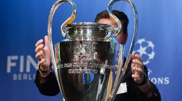 Champions League draw at 12 CET today