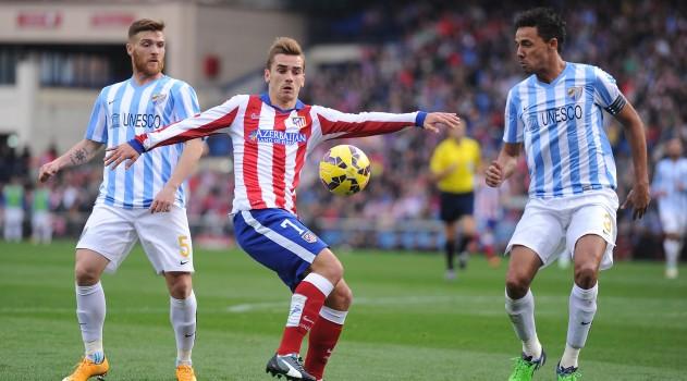 Griezmann scored 2 last season at Malaga