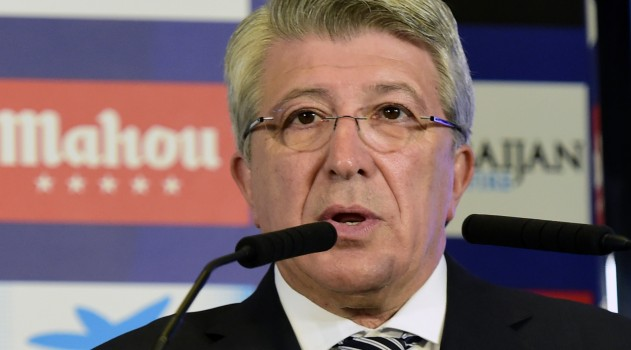Atlético president Enrique Cerezo