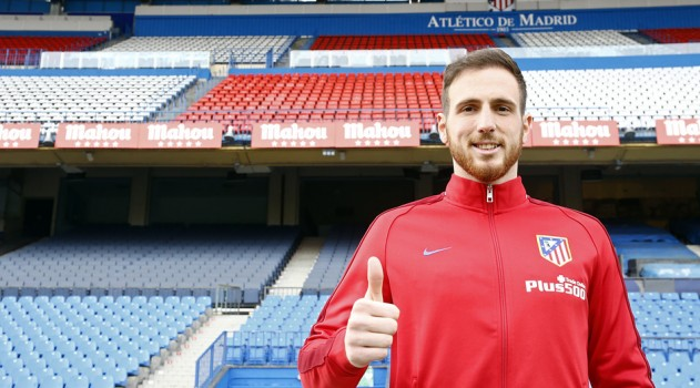 All smiles from Oblak (www.clubatleticodemadrid.com)