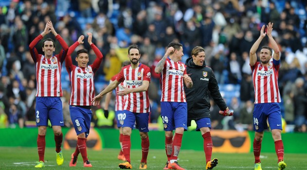 Atlético ran out eventual winners