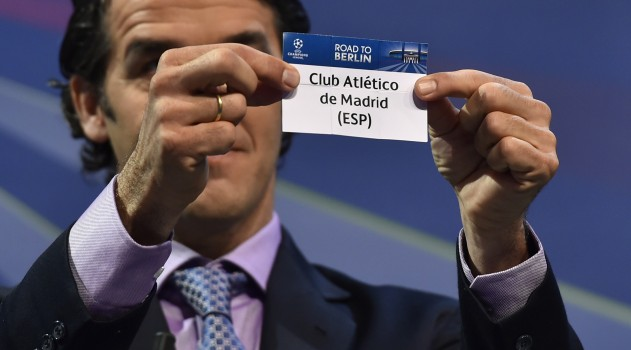 Barcelona will be Atleti's next opposition in the Champions League