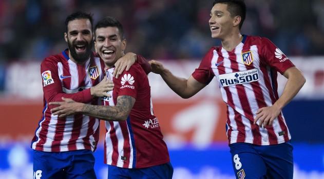Kranevitter, Correa and Gámez all start for Atleti