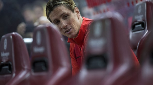Torres has had to settle for some bench time this season at Atlético