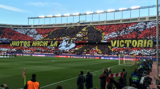 Together to victory! (Pic: @AtleticoFans)