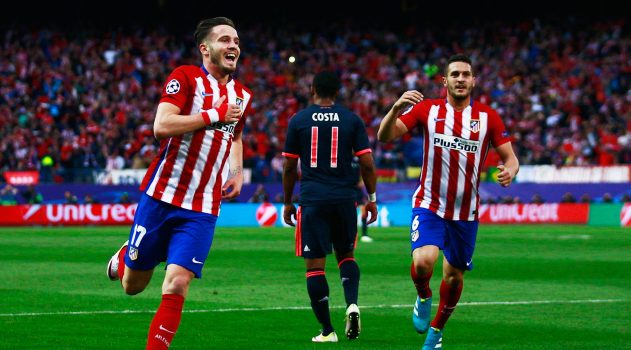 Saúl's magnificent solo goal proved to be the winner