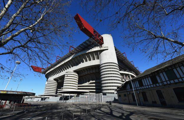 The San Siro, venue for the 2016 Champions League final