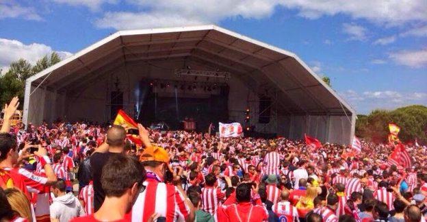 The Fan Zone in Lisbon two years ago