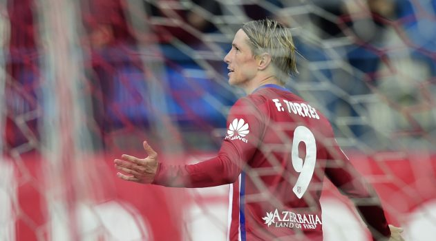Torres broke the deadlock for Atlético