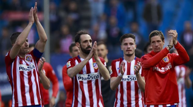 The team shows their appreciation after another great La Liga campaign