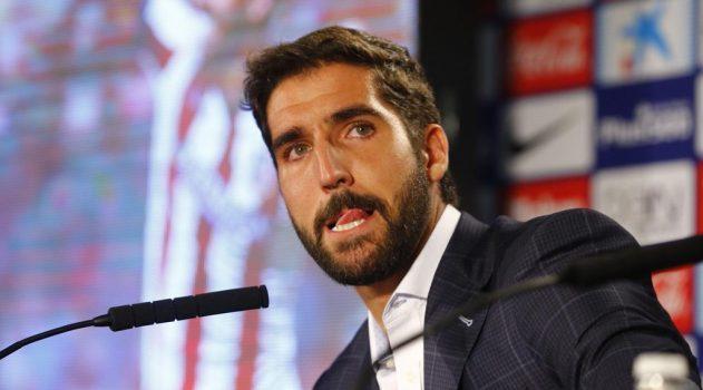 Raúl García bid farewell to Atlético back in August