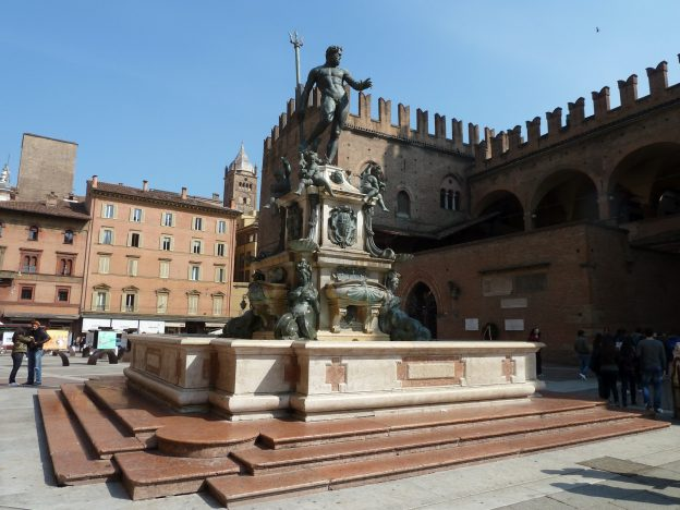 The Fontana del Nettuno in Bologna