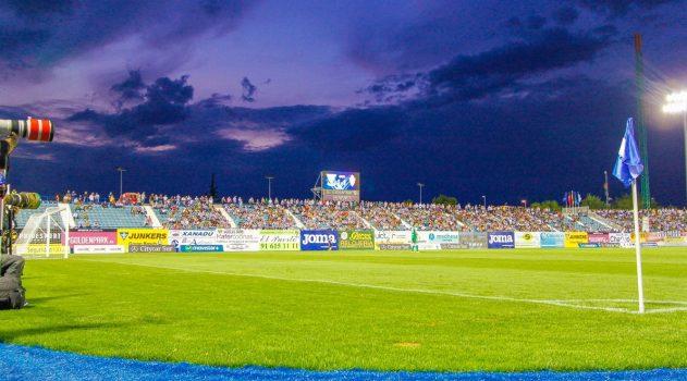 Butarque ready to stage it's first La Liga match (Estadios de Futbol)