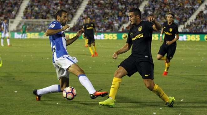 Koke had a game to forget against los Pepineros