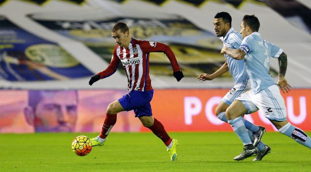 Griezmann was on target at Balaídos last season