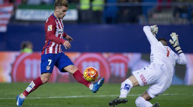 Griezmann struck late to win last season's corresponding fixture