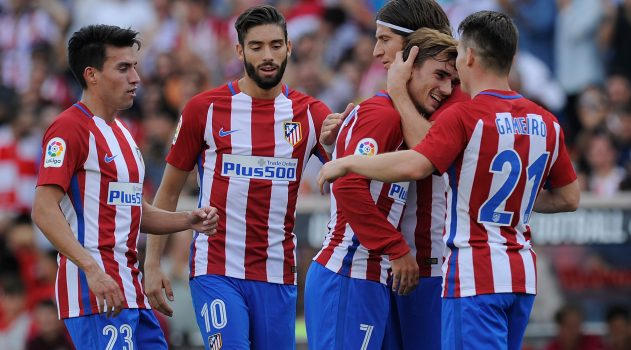 Griezmann and Gameiro were on fire in the first half