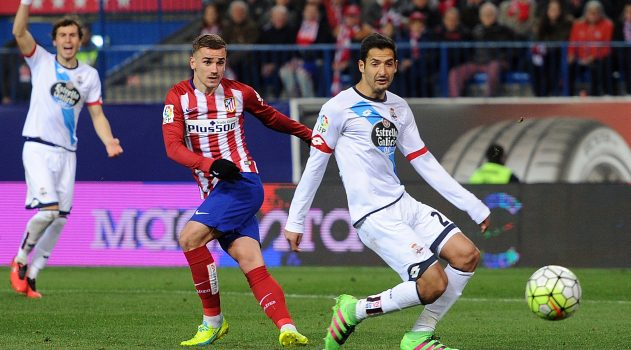 Griezmann was on target against Depor last season