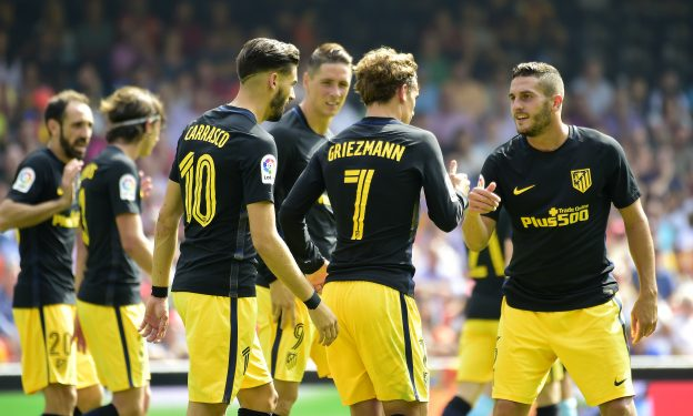 Griezmann opened the scoring after penalty miss