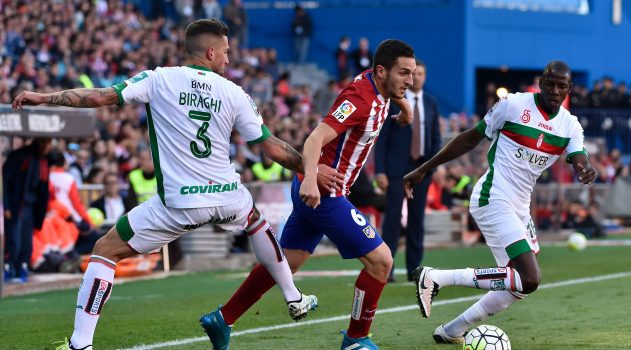 Koke will be looking to continue his good form against Granada