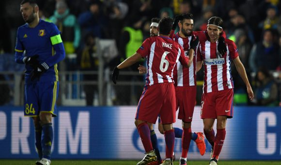 Atleti move into pole position in Group D