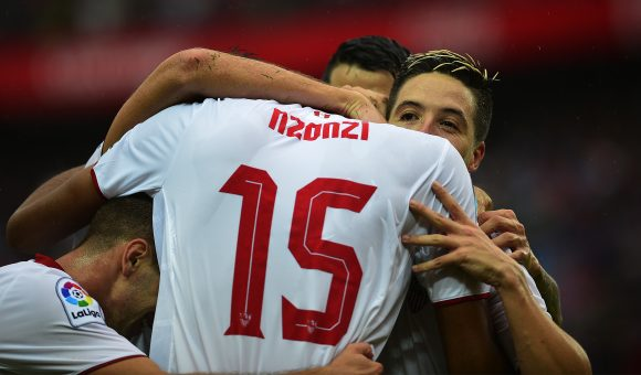 N'Zonzi earns Sevilla's first win over Atleti in six years