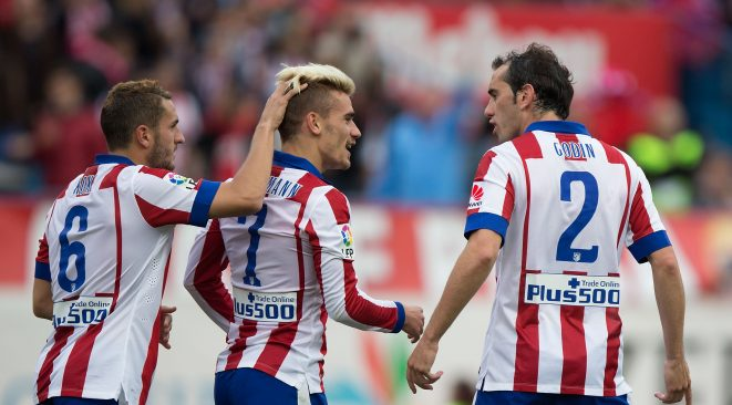 Griezmann could become second Atleti player ever to make the podium