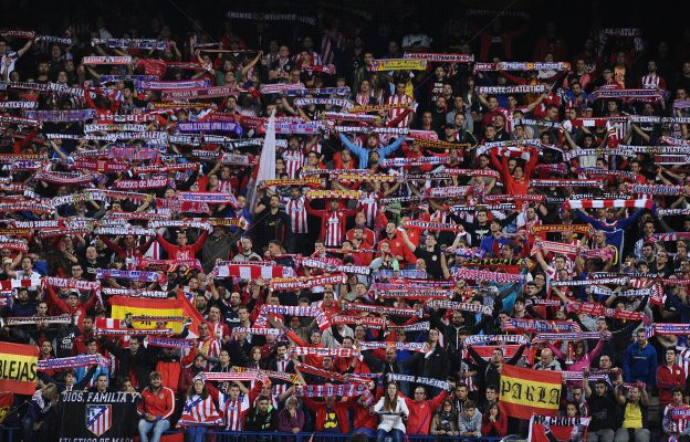 The Vicente Calderón is expectant