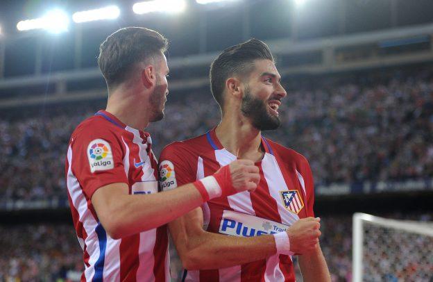 Carrasco is now Atlético's top scorer this season