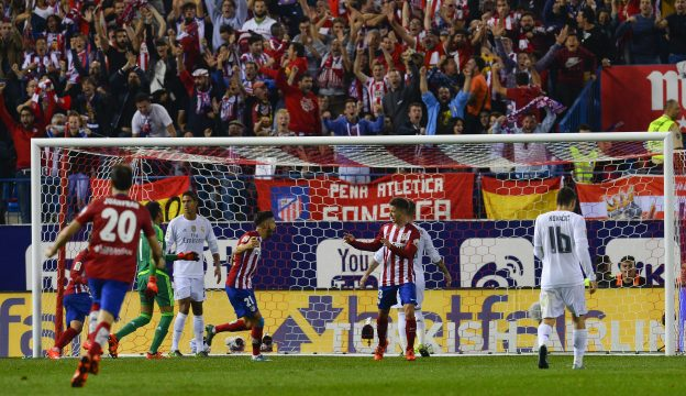 The two teams played out a 1-1 draw at the Calderón last season