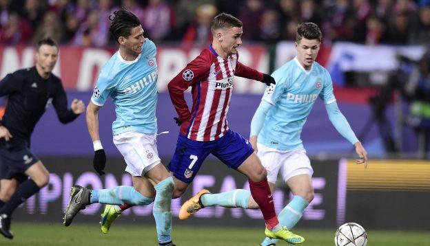 PSV frustrated Atleti at the Calderón last season