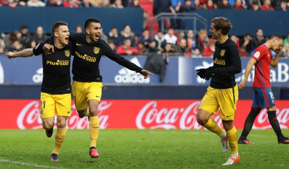Correa and Gameiro combined for the second goal