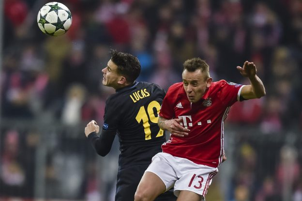 Lucas was arguably Atleti's standout performer at the Allianz