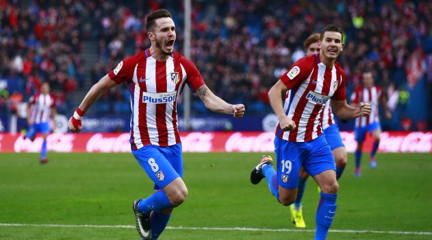 Saúl's goal separates the two sides at the Calderón