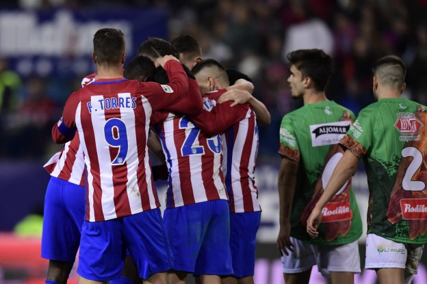 Straightforward win for Atlético