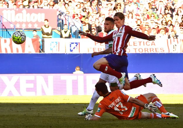 Torres scores his fourth goal in four games for Atleti
