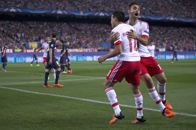 Gaitán scores for the visitors