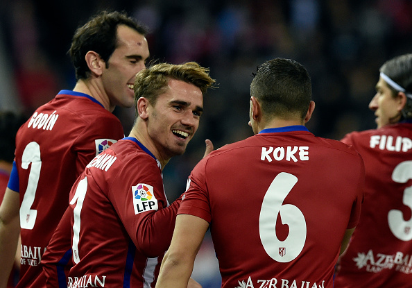 Griezmann scores his third goal in a week for Atlético