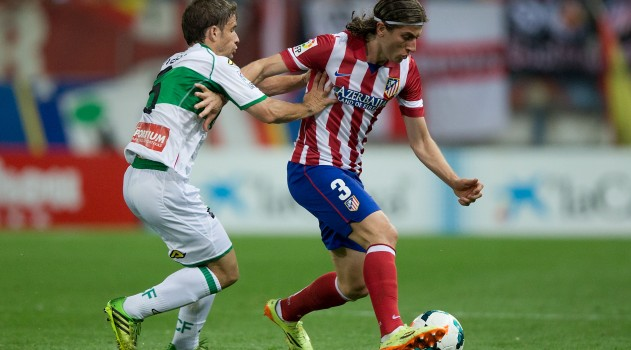 Filipe nearing Atlético return