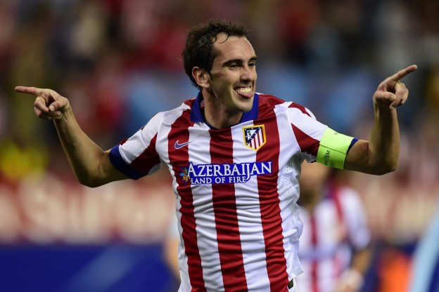 Godín celebrates his sixth season with Atlético this year